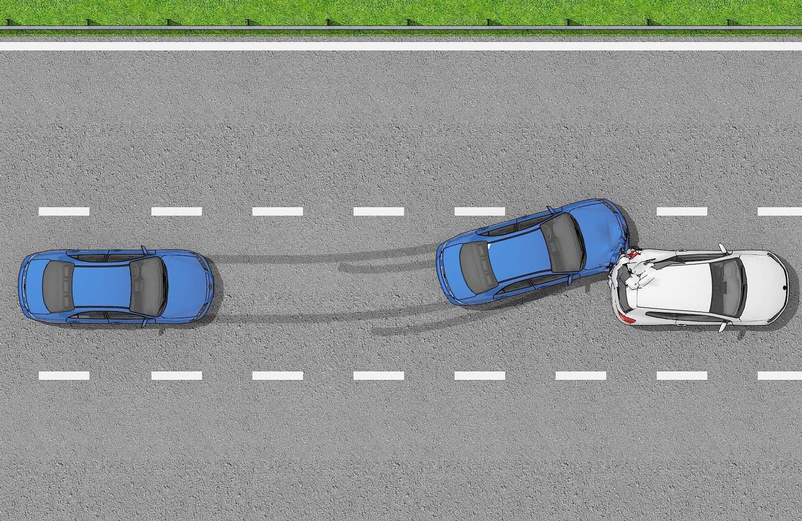 Road safety, stopping distances and 2-second rule.