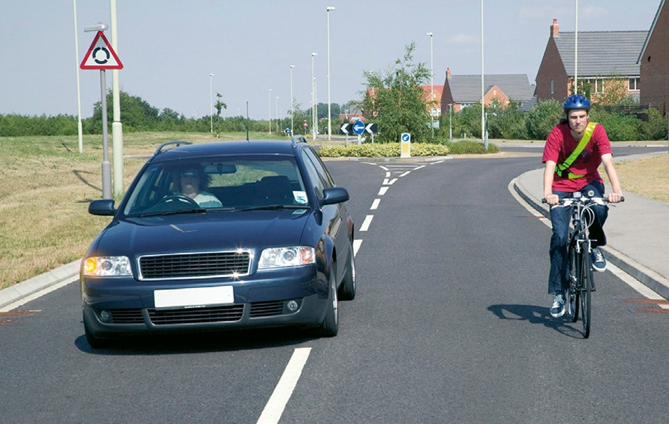 Rule 163: Give vulnerable road users at least as much space as you would a car